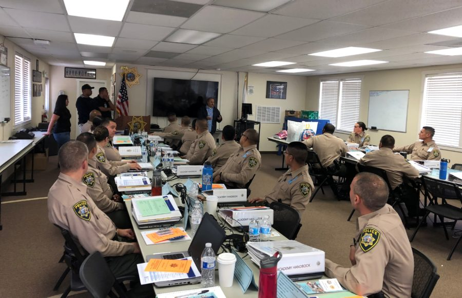 CSLEA-HPAC Visit Cadets at Police Academy at Camp San Luis
