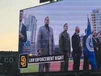 CSLEA CACI Member Recognized at Padres Law Enforcement Appreciation Night