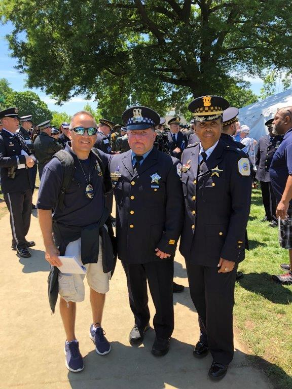 CSLEA CACI Member Freddy Gamboa Returns from National Police Week in Washington, D.C.