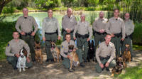 Congratulations to our Warden Members  Who Graduated from CDFW K-9 Academy