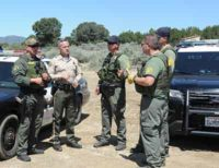 CDFW Wardens Help with Illegal Marijuana Cultivation Bust in Riverside County
