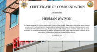CSLEA Member Herman Watson Recognized for Saving a Life