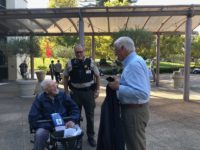Public Safety Officer Arranges for 102-Year-Old War Vet to Meet Congressman Thompson