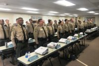 CSLEA Visits Cadets at Camp San Luis Obispo Academy