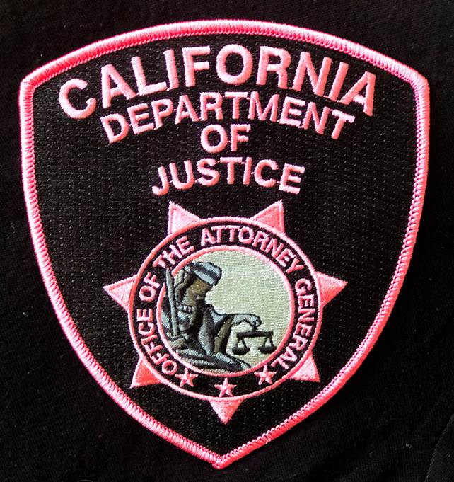 Association of Special Agents-DOJ Proud Partners of Pink Patch Project