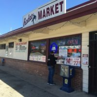 ABC Agents Post Notice of License Revocation at Rodeo Market in Salinas