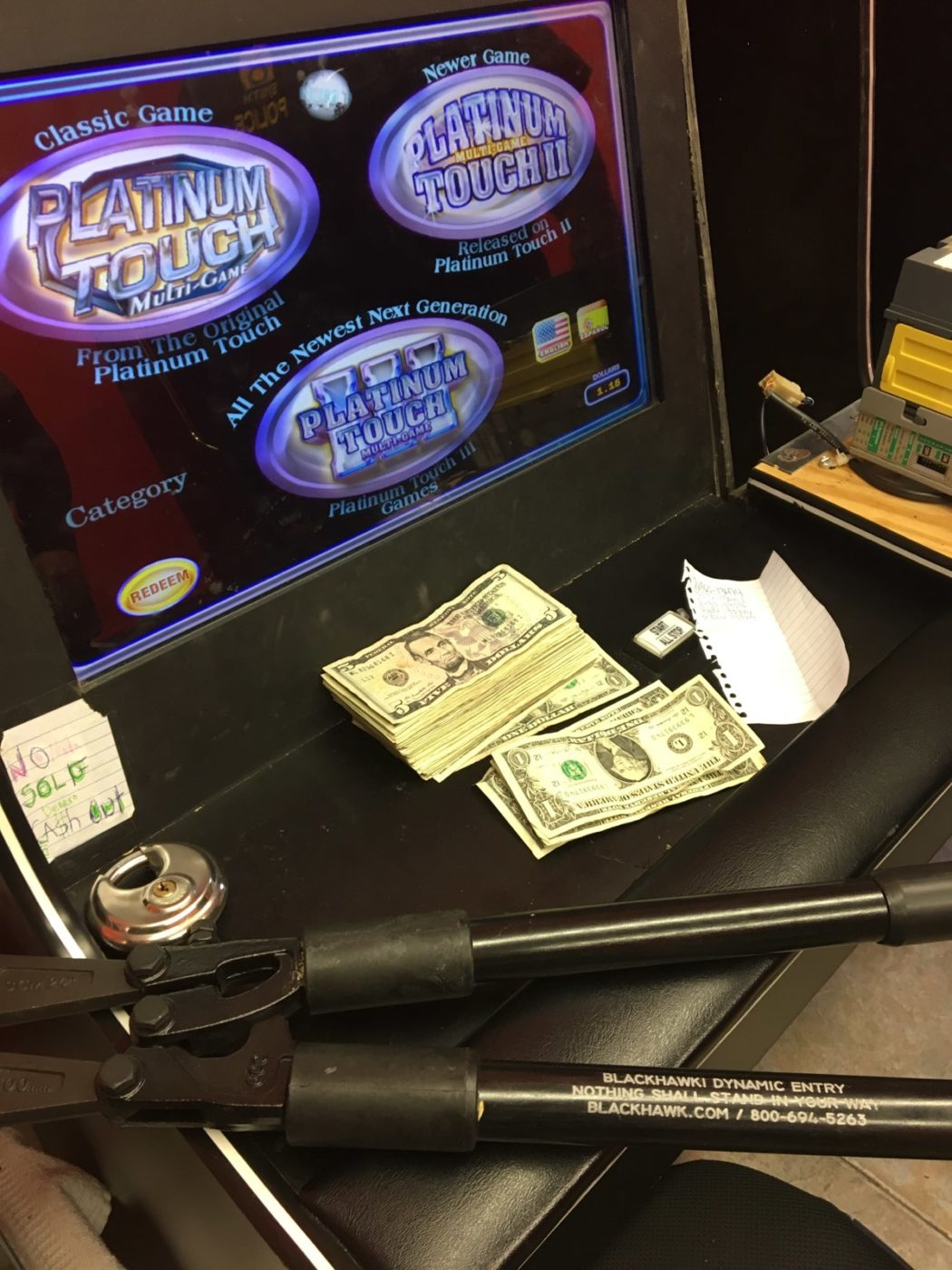 California DOJ Special Agents Investigate Illegal Gambling Machines in Merced County
