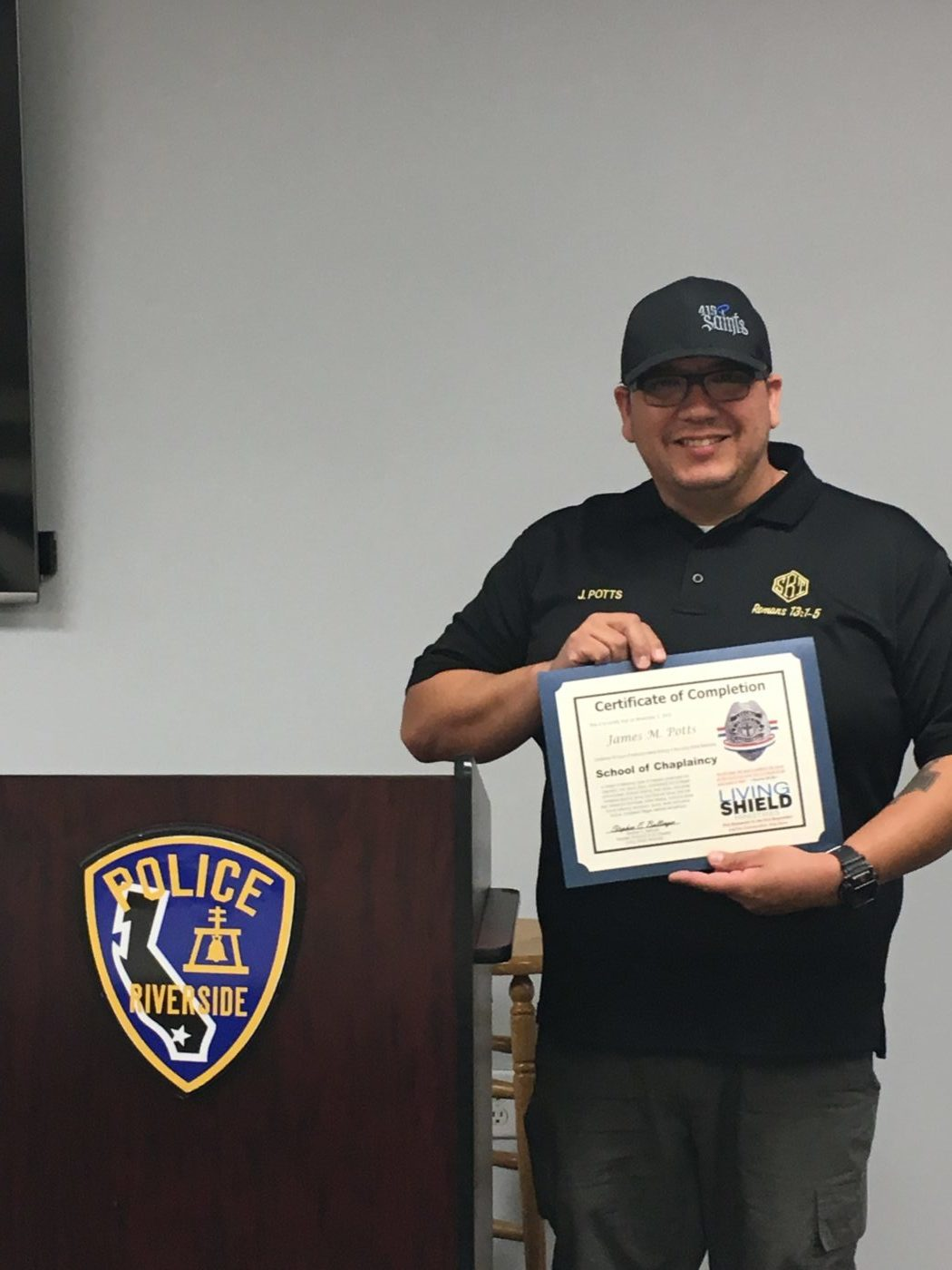 CSLEA CACI Member Completes Chaplaincy Course to Assist First Responders