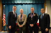 CSLEA Salutes Governor's Two Medal of Valor Recipients
