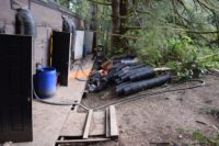 CDFW and Humboldt County Sheriff's Office Investigate Illegal Cannabis Cultivation in Ferndale