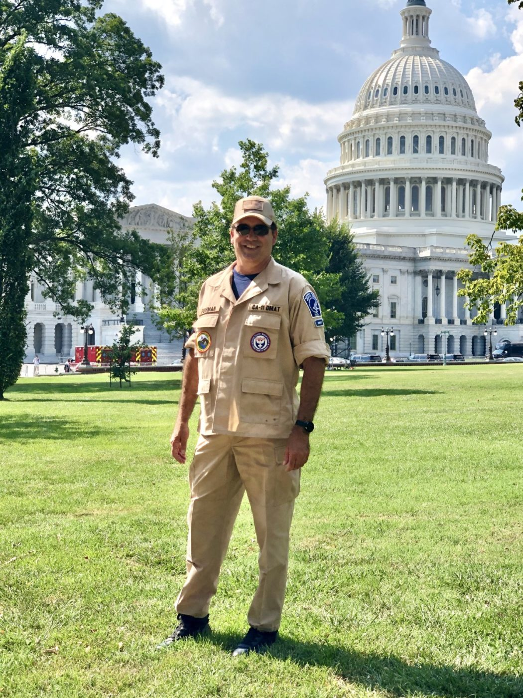 CSLEA Member Jerry Fuhrman Deployed as Safety Officer for Rep. John Lewis Remembrance in Washington D.C.