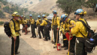CSLEA Members with CCC Spend Weeks Away from Home at Complex Fires and Fire Camps