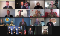 CSLEA President Attends Video Conference Honoring Governor's Medal of Valor Recipients