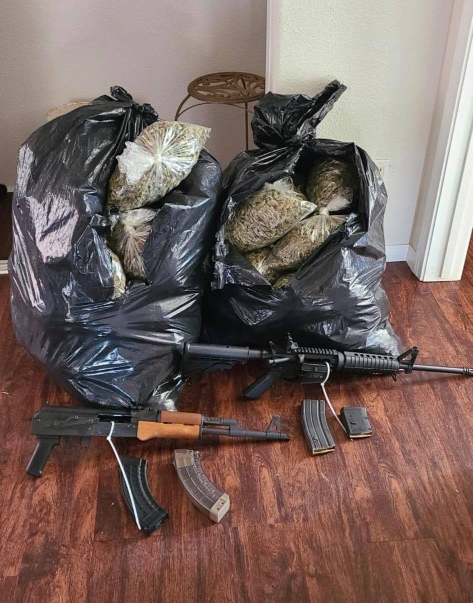 CDFW and CDFA Assist Riverside County Sheriff's Department with Illegal Cannabis Investigation