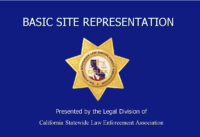 CSLEA Conducts Site Rep Class for Rangers and Com Op