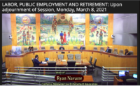 CSLEA Representatives Testify at Senate Committee Hearing in Support of SB 284