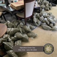 BCC and CDFW Assist Stanislaus County Sheriff's Office with Operation Green Day