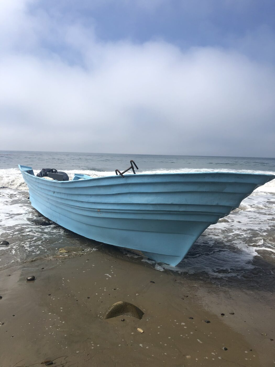 State Parks Rangers & Lifeguards Respond to Panga Boat Possibly Involved in Human Smuggling