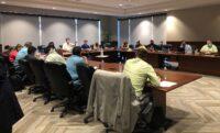 Directors Meet at Future Home of CSLEA Headquarters