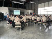 CSLEA and SPPOAC Meet with Cadets at Parks Academy